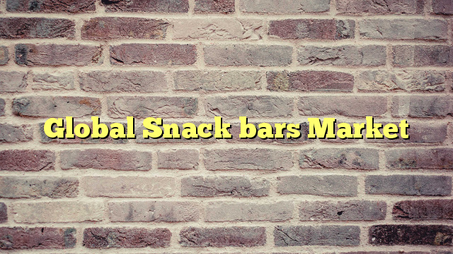 Global Snack bars Market